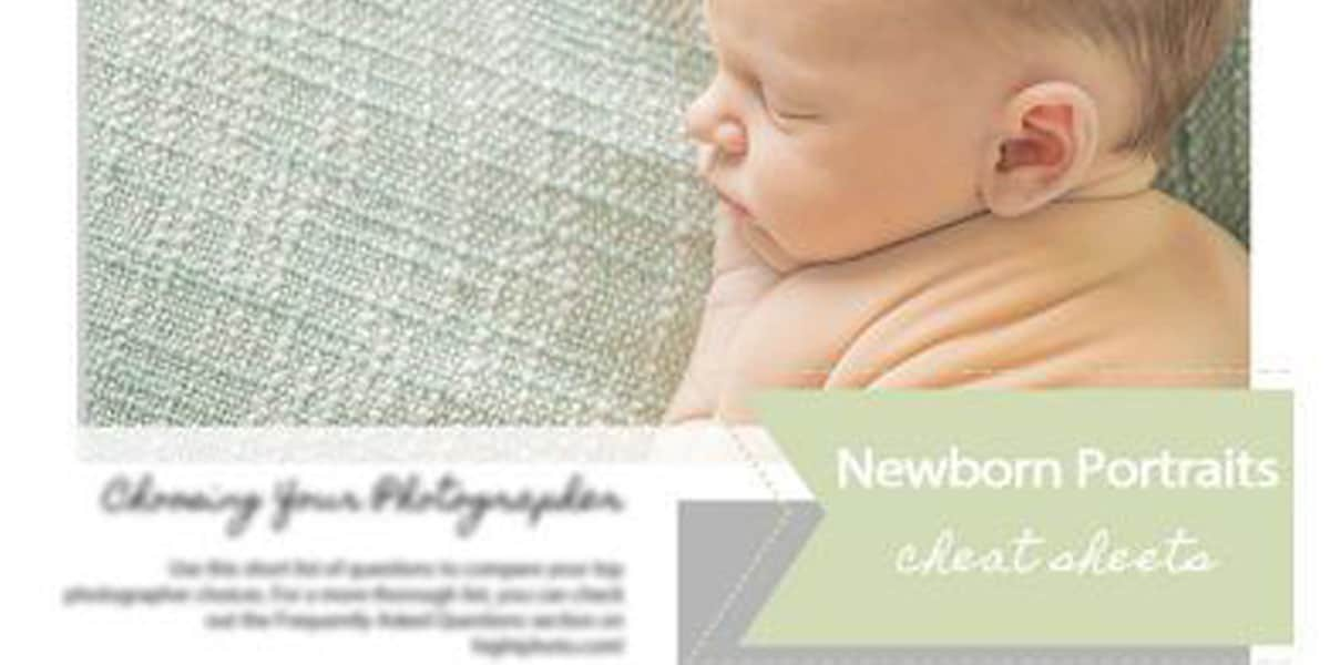 Top Newborn Photographer Creates Heirloom Portraits of Your Baby 3