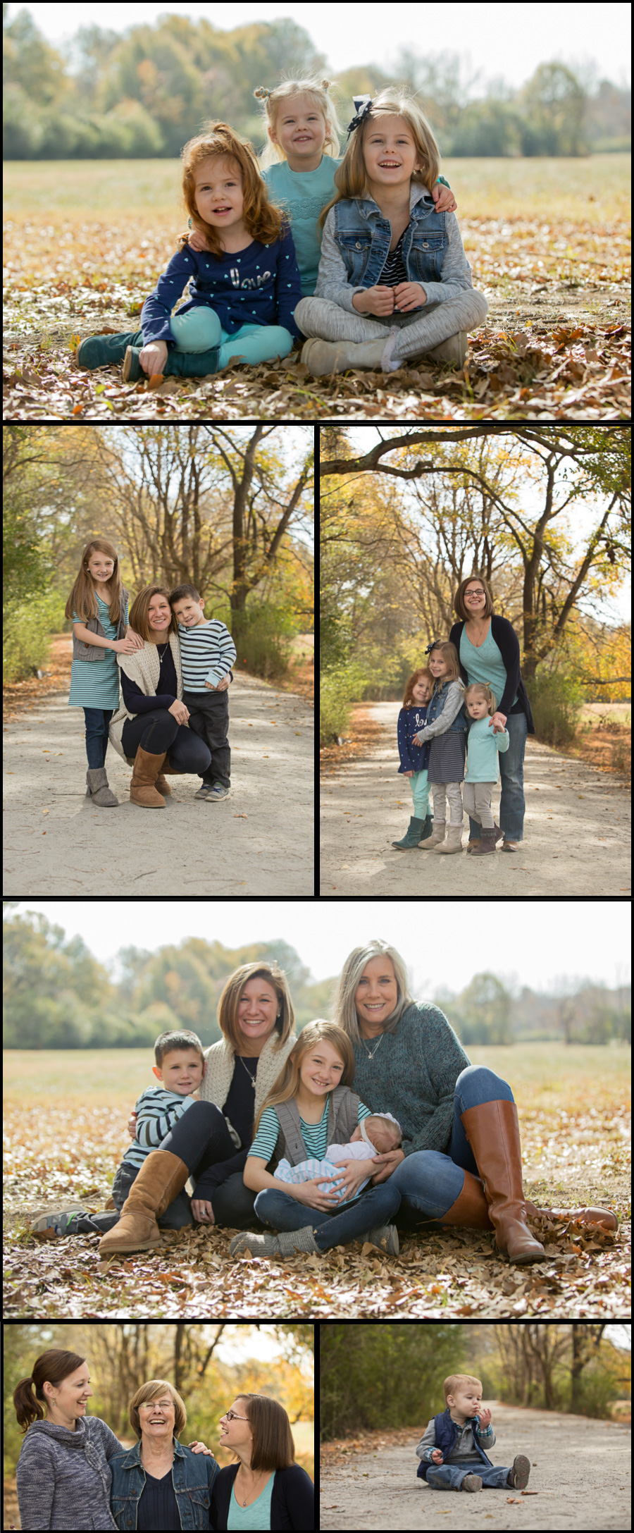 Fall Family Photos with Suwanee Photographer Colleen Hight Photography