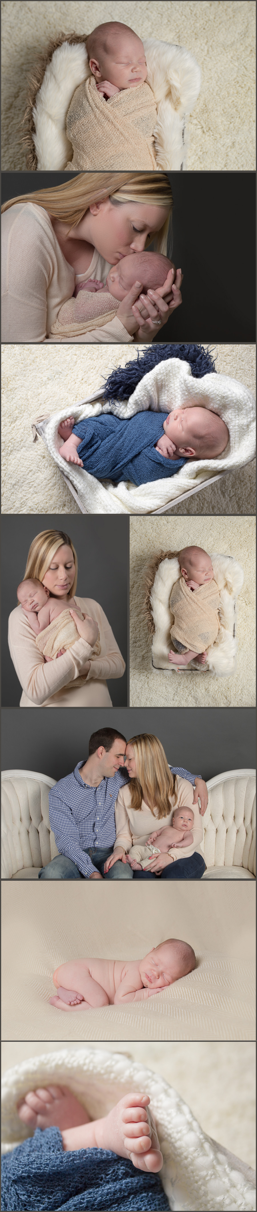 David's Newborn Portraits