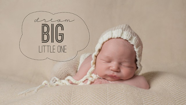 Big Dreams Newborn Portraits – Atlanta Newborn Session