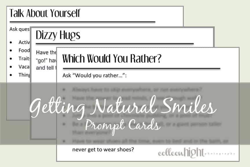 Getting Natural Smiles Prompt Cards 2
