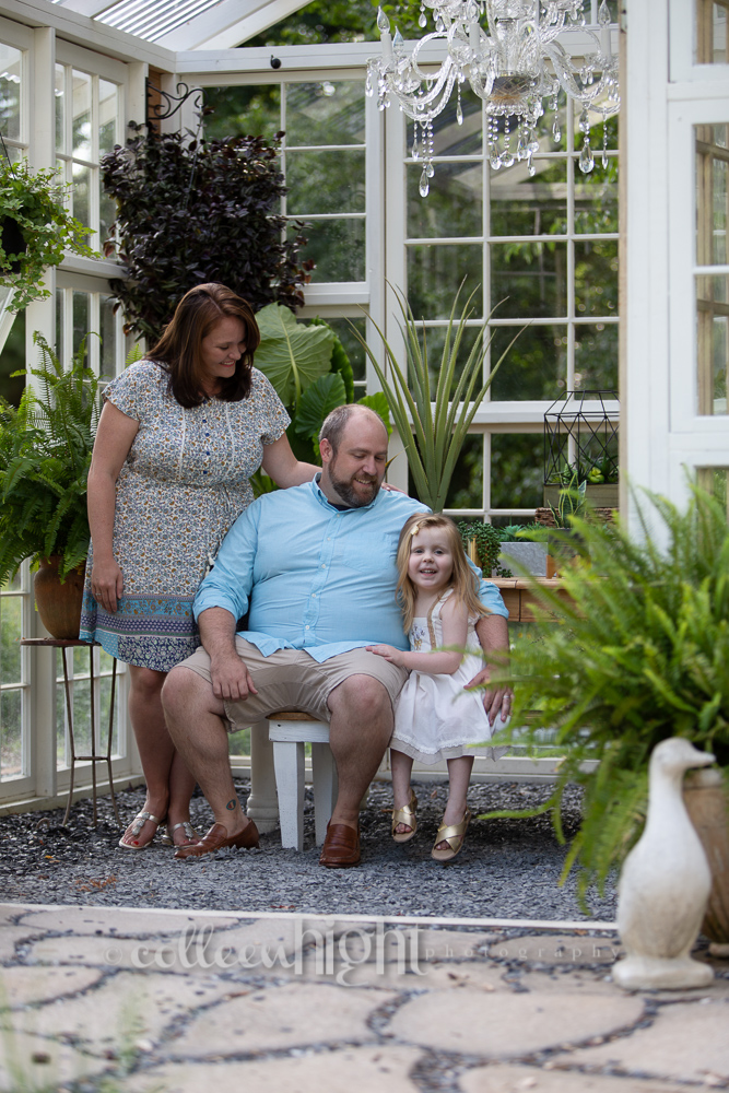 Greenhouse Family Session | Lawrenceville, Georgia 1