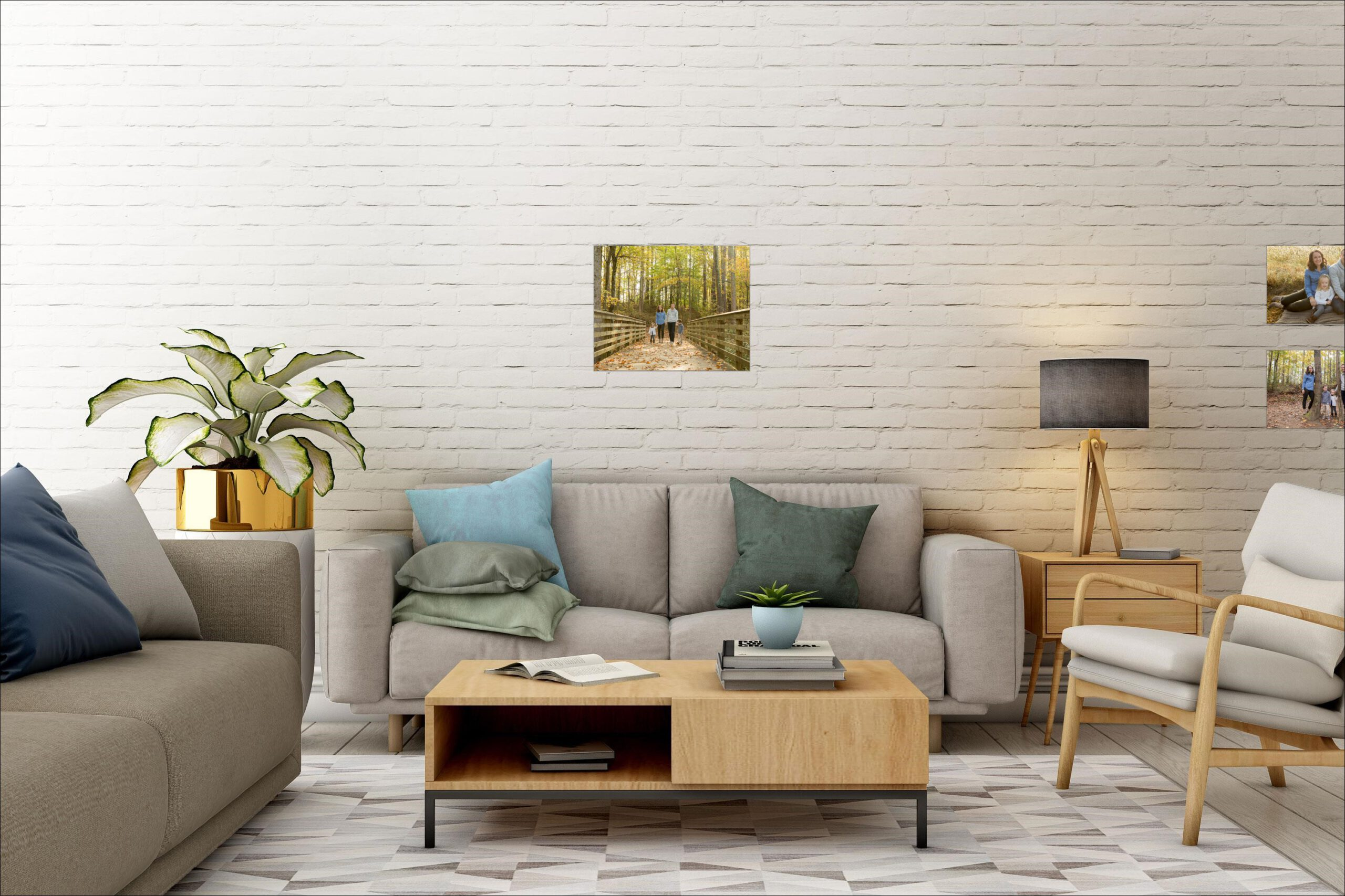 4 Easy Steps to Decorate With Photographs 6
