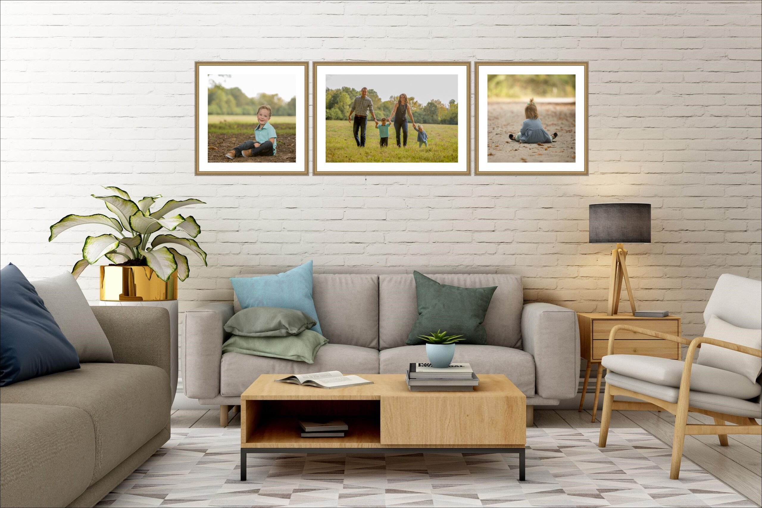 4 Easy Steps to Decorate With Photographs 7