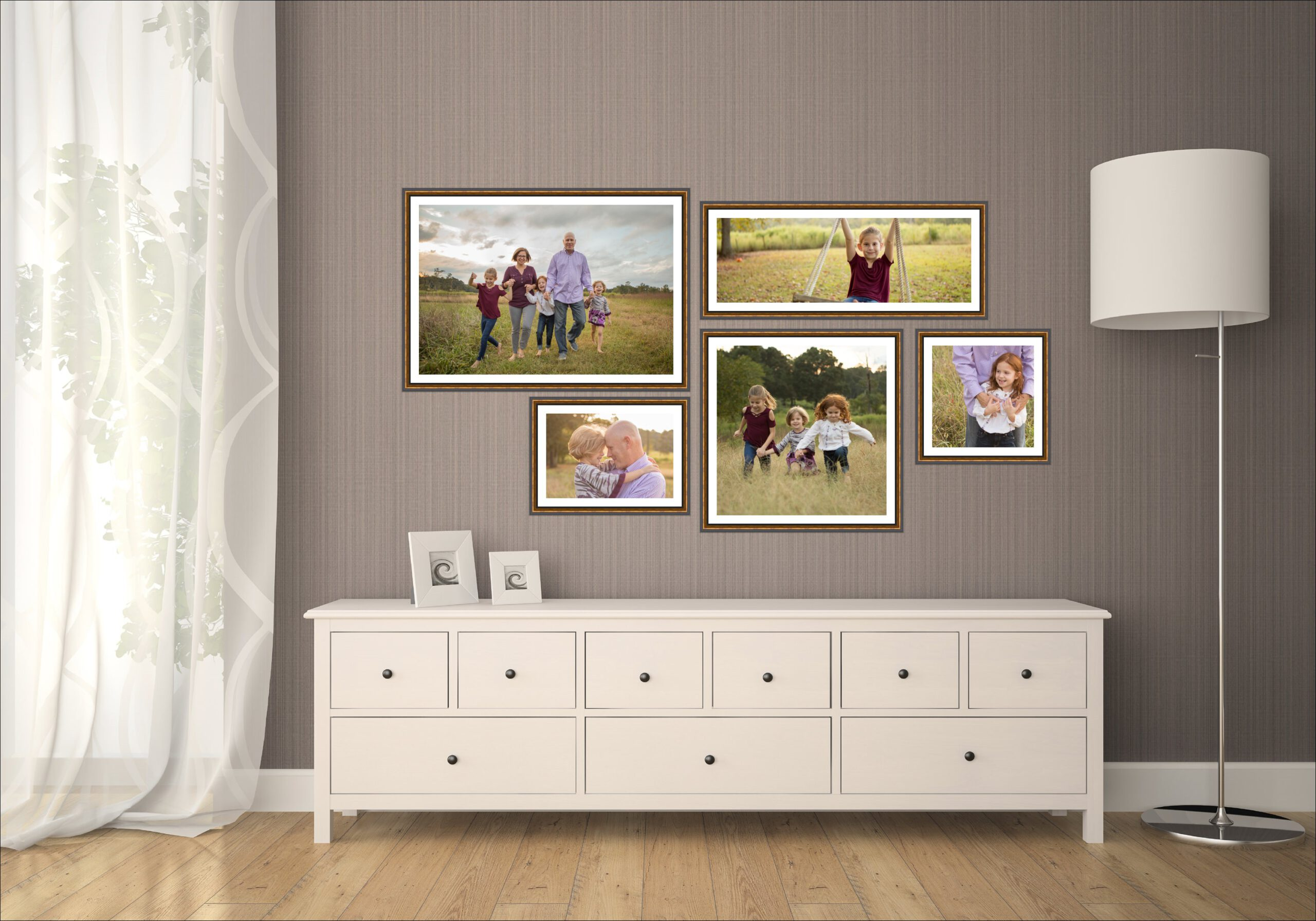 4 Easy Steps to Decorate With Photographs 4